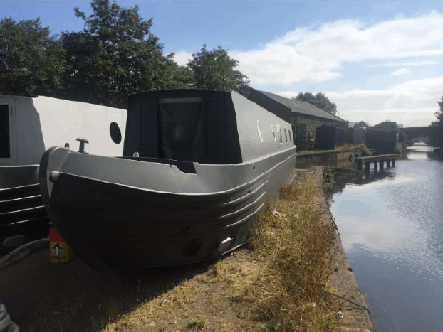 Websters Insulation narrow boat case study