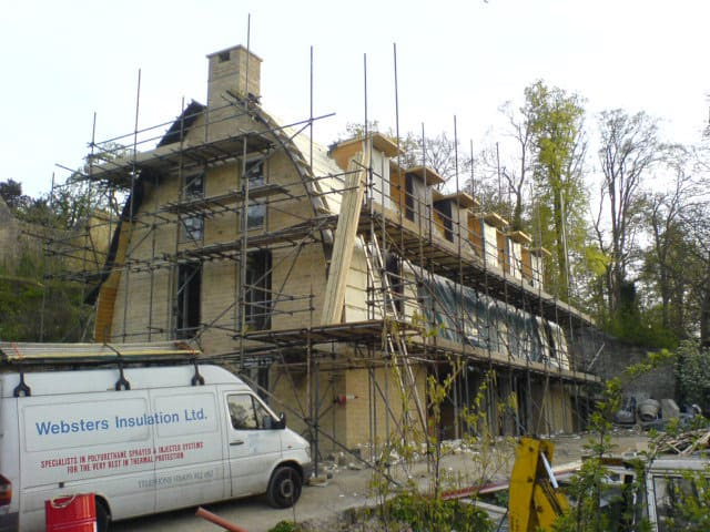roof insulation preparation by websters insulation