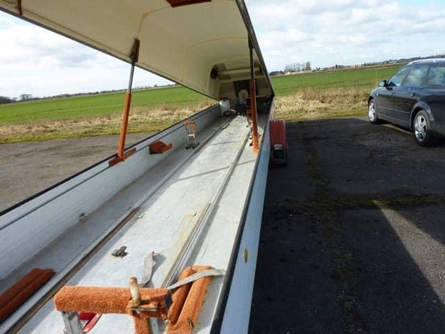 Bespoke glider insulation
