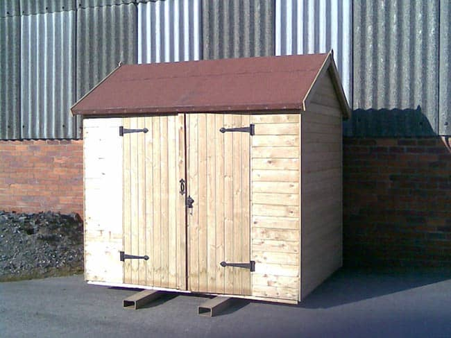 An Insulated Shed